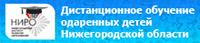 Дистанционное обучение одаренных детей Нижегородской области